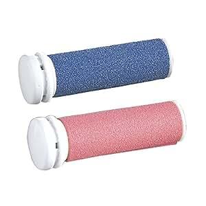 Silk'n Micropedi Soin des Pieds Recharge 2 Rouleaux Bleu / Rouge
