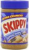 Skippy Peanut Butter, Super Chunk, 16.3-Ounce Jars (Pack of 6)