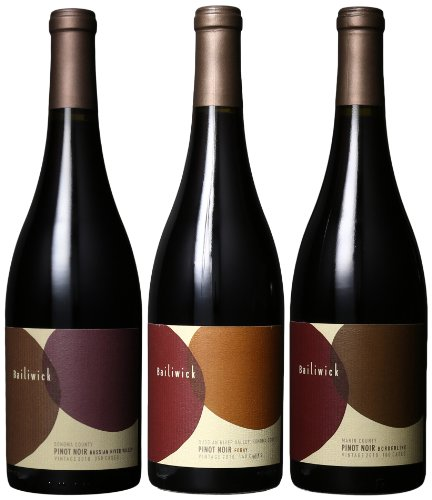 Bailiwick Wines Sf Chronicle Wine Competition Gold Medal Selection, 3 X 750 Ml