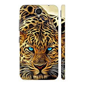 Enthopia Designer Hardshell Case ELECTRIC WOW CHEETAH Back Cover for Meizu M2 Note