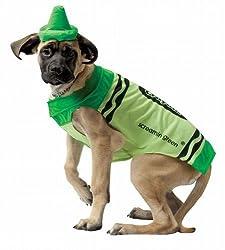 Rasta Imposta Crayola Screamin' Green Pet Dog Costume from Rasta Imposta