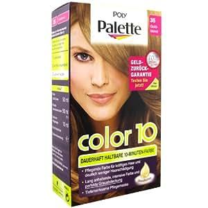 Poly palette color 10 35 goldblond stufe 3 beauty - 10 minuten haarfarbe ...