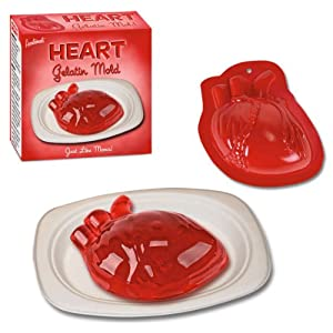 anatomic Heart shaped Gelatin Mold