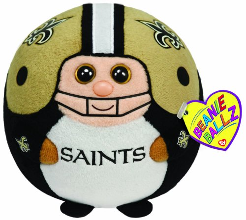 Ty Beanie Ballz New Orleans Saints - NFL Ballz - 1