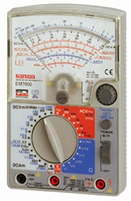 Sanwa Em7000 Analog Multimeter FET Tester **GENUINE**