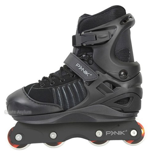 Anarchy Panik 3 Kids Adjustable Aggressive Inline Skates (UK2 to UK5)