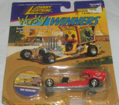 Johnny Lightning -Wacky Winners Bad Medicine Series No.1 Red Limited Edition