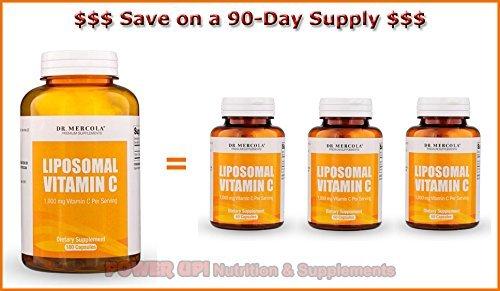 Dr mercola 0813006014991 Liposomal Vitamin Capsules - Best Price