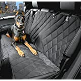 Dog Seat Covers for Cars - Best Nonslip Backing Waterproof- Black