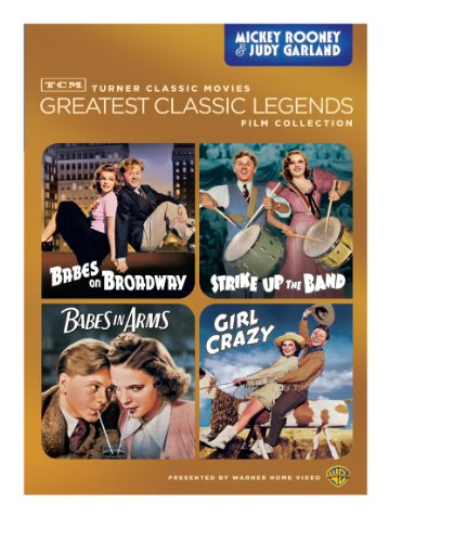 TCM Greatest Classic Legends: Rooney & Garland (Babes on Broadway / Strike Up the Band / Babes in Arms / Girl Crazy)