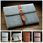 GLucky Business PU Leather Stand Case...