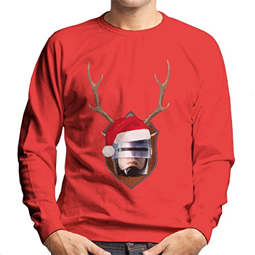 robocop-christmas-antler-head-mens-sweatshirt