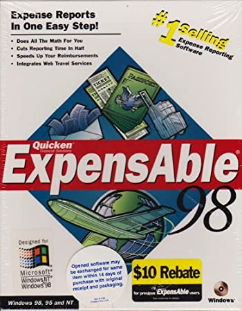 Quicken Expensable 98