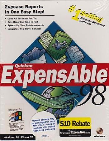 Quicken Expensable 98