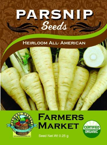 Toland Home Garden Organic Heirloom All-American Parsnip Seeds