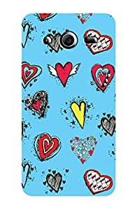 ZAPCASE PRINTED BACK COVER FOR SAMSUNG CORE 2