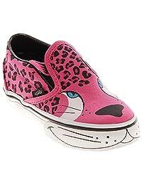 Vans Toddler Classic Slip-On, Cheetah Pink/Wht-6.5 Toddler