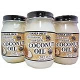 Trader Joe's Coconut Oil (3 Jars)