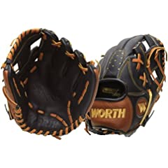 Worth Prodigy Series 11.25 Inch P112 Youth Baseball Glove by Worth