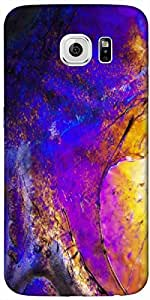 Timpax protective Armor Hard Bumper Back Case Cover. Multicolor printed on 3 Dimensional case with latest & finest graphic design art. Compatible with Samsung Galaxy S-6-EDGE Design No : TDZ-21840