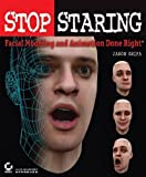 img - for By Jason Osipa Stop Staring: Facial Modeling and Animation Done Right (1st First Edition) [Paperback] book / textbook / text book