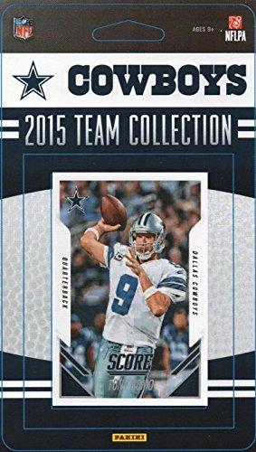 Dallas Cowboys 2015 Score Factory Sealed NFL Football 16 Card Team Set Including Tony Romo, Dez Bryant, Sean Lee Plus