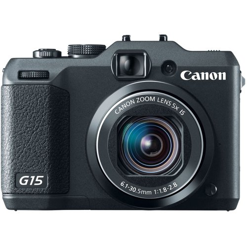 Canon PowerShot G15 12MP Digital Camera  3-Inch