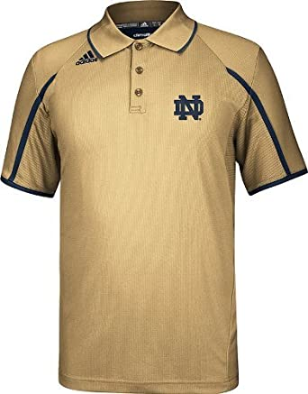Notre Dame Fighting Irish Adidas Climalite Sideline Polo - Gold by Unknown