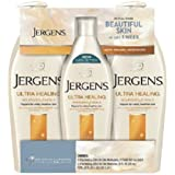 Jergens Ultra Healing Lotion Triple Pack 2 / 21 oz. bottles and 1 / 10 ounce bottle