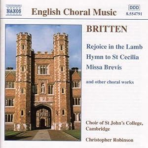 Britten - English Choral Music