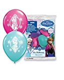 Pioneer National Latex Disney 12 Frozen Balloons, Assorted, 24ct GUARANTEED 8 of Each Color