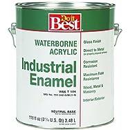 - W66T00104-16 Do it Best Waterborne Industrial Enamel-GLS NEUTRAL BS LTX PAINT