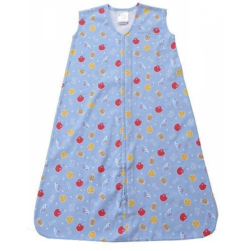 HALO SleepSack Wearable Blanket in Cotton - Sports Print (Small)