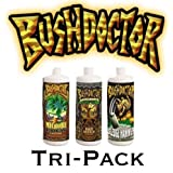Fox Farm Bush Doctor Tri-pack Kangaroots, Microbe Brew, Sledgehammer 1 Pint Each by Bushdoctor