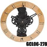 Splendido Orologio da Parete e da Muro con Ingranaggi a Vista DynaSun GCL06-278