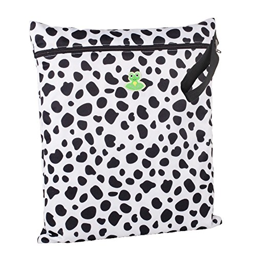 GO-FLUFF Wet Bag (Non-Minky)  13 x 14.75 inches (Moo!!)