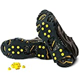 Alps Icegrips Snow Traction Gear Slip on Snow and Ice Cleat Traction Prevent Slipping Plus 10 Extra Replacement Steel Studs (X Large)