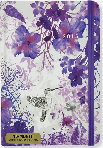2015 Hummingbird Weekly Planner (16-Month Engagement Calendar, Diary)