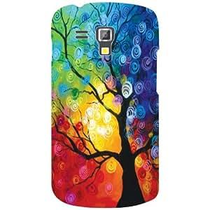 Samsung Galaxy S Duos 7582 Back Cover - (Printland)