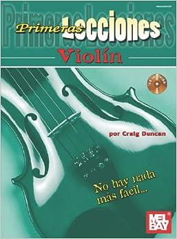 Amazon.com: Primeras Lecciones Violin (Book & CD) (9780786683765