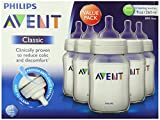 Philips Avent BPA Free Classic Polypropylene Bottle, Opaque, 9 Ounce, 5 Count (Discontinued by Manufacturer)
