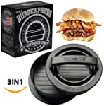 Burger Press with Different Size Patt...