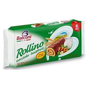 Balconi Rollino Snack Cakes - 6 cakes per pack