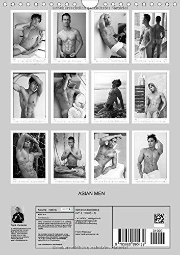 Asian Men (Wandkalender 2015 DIN A4 hoch): Sinnlich, erotische Fotos asiatischer Maenner (Monatskalender, 14 Seiten)
