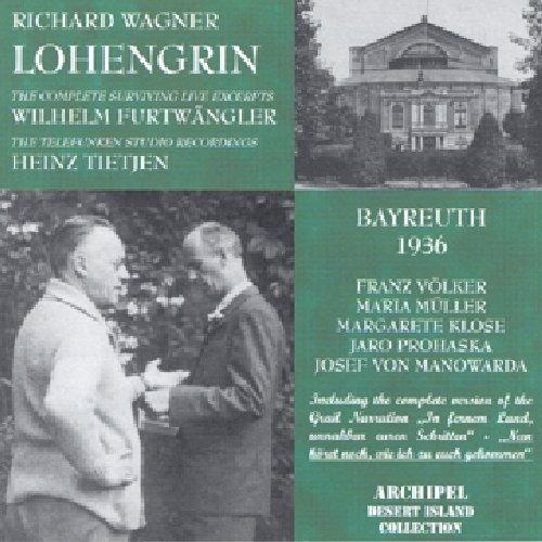 Lohengrin (Dir. W.Furtwangler) - Wagner - CD