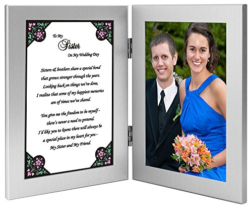 Wedding Gift For Groom From Sister : To My Sister on My Wedding Day - Sister Gift From Brother the Groom ...
