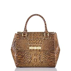 Malia Satchel<br>Toasted Almond Melbourne