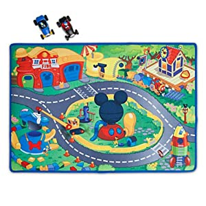 Amazon.com: Mickey Mouse Clubhouse - Mickey & Donald Play Mat
