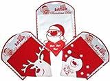 Christmas Baby Bandana Bib - Reindeer