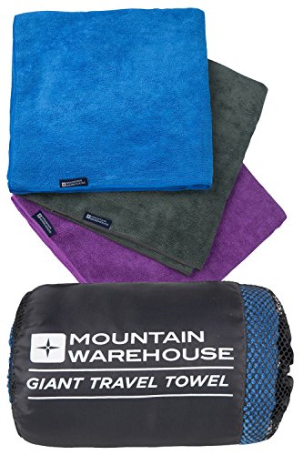 comparamus mountain warehouse serviette voyage ponge microfibre s chage rapide sport camping. Black Bedroom Furniture Sets. Home Design Ideas